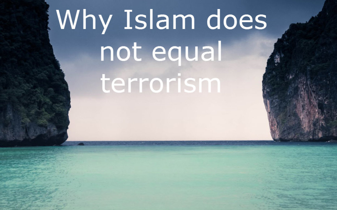 Why Islam does not equal terrorism