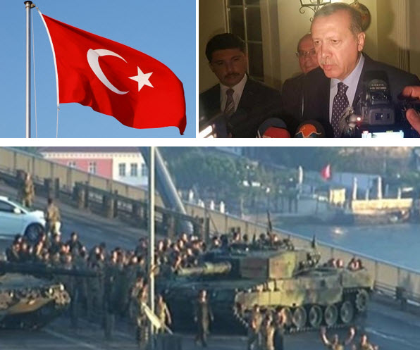 Coup in Turkey kills 42