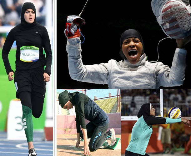 Hijabi Women in the Olympics
