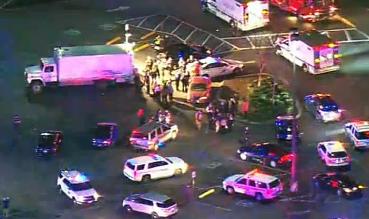 Five killed in Mall Shooting