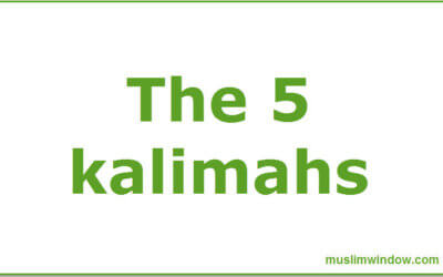 The Five Kalimahs